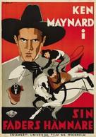 Gun Justice - Swedish Movie Poster (xs thumbnail)