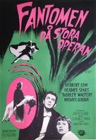 The Phantom of the Opera - Swedish Movie Poster (xs thumbnail)