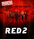 RED 2 - German Movie Cover (xs thumbnail)