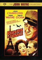 Reunion in France - DVD movie cover (xs thumbnail)