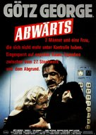 Abwärts - German Movie Poster (xs thumbnail)