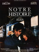 Notre histoire - French Movie Poster (xs thumbnail)