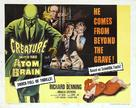 Creature with the Atom Brain - Movie Poster (xs thumbnail)