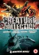 Mega Python vs. Gatoroid - British DVD movie cover (xs thumbnail)