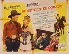 Sunset in El Dorado - Movie Poster (xs thumbnail)