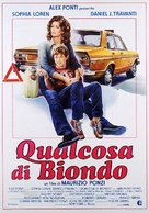 Qualcosa di biondo - Italian Movie Poster (xs thumbnail)