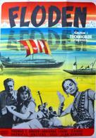 The River - Swedish Movie Poster (xs thumbnail)