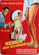 Don't Bother to Knock - German Movie Poster (xs thumbnail)