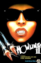 Howling II: Stirba - Werewolf Bitch - VHS cover (xs thumbnail)