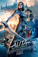 Alita: Battle Angel - Re-release movie poster (xs thumbnail)