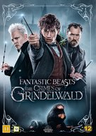 Fantastic Beasts: The Crimes of Grindelwald - Danish DVD movie cover (xs thumbnail)