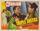 Triple Justice - Movie Poster (xs thumbnail)