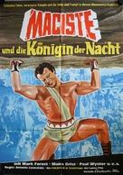 Maciste, l'uomo più forte del mondo - German Movie Poster (xs thumbnail)