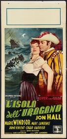 Hurricane Island - Italian Movie Poster (xs thumbnail)