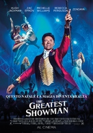 The Greatest Showman - Italian Movie Poster (xs thumbnail)