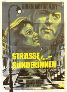 Street of Sinners - German Movie Poster (xs thumbnail)