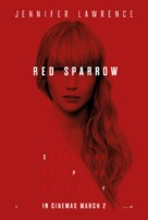 Red Sparrow - British Movie Poster (xs thumbnail)