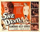She Devil - Movie Poster (xs thumbnail)