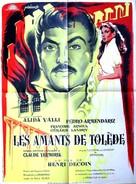 Les amants de Tolède - French Movie Poster (xs thumbnail)