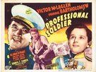 Professional Soldier - Movie Poster (xs thumbnail)
