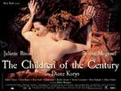Les enfants du siècle - French Movie Poster (xs thumbnail)