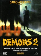 Demoni 2 - Austrian Blu-Ray cover (xs thumbnail)