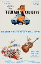 Young, Hot 'n Nasty Teenage Cruisers - Movie Poster (xs thumbnail)