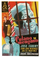 Fulano y Mengano - Spanish Movie Poster (xs thumbnail)