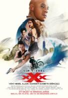xXx: Return of Xander Cage - Turkish Movie Poster (xs thumbnail)