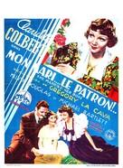 She Married Her Boss - Belgian Movie Poster (xs thumbnail)