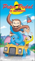 Curious George 2: Follow That Monkey - Danish Movie Poster (xs thumbnail)