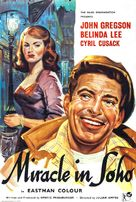 Miracle in Soho - British Movie Poster (xs thumbnail)