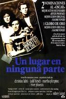 Running on Empty - Spanish Movie Poster (xs thumbnail)