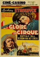 Annie Oakley - Belgian Movie Poster (xs thumbnail)