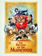 The Return of the Musketeers - British Movie Poster (xs thumbnail)