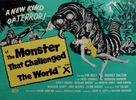 The Monster That Challenged the World - British Movie Poster (xs thumbnail)