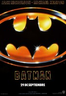 Batman - Spanish Movie Poster (xs thumbnail)