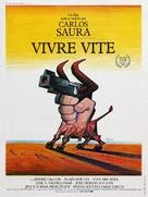 Deprisa, deprisa - French Movie Poster (xs thumbnail)