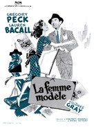 Designing Woman - French Movie Poster (xs thumbnail)