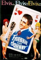 Frankie and Johnny - German Movie Poster (xs thumbnail)