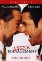 Anger Management - British DVD movie cover (xs thumbnail)
