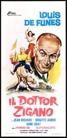 Mon pote le gitan - Italian Movie Poster (xs thumbnail)