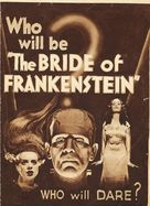 Bride of Frankenstein - Theatrical movie poster (xs thumbnail)