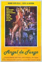 Angel of H.E.A.T. - Spanish Movie Poster (xs thumbnail)