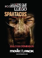 """Spartacus: Blood And Sand"" - Argentinian Movie Poster (xs thumbnail)"