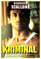 Lock Up - Czech DVD movie cover (xs thumbnail)
