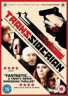 Transsiberian - British DVD cover (xs thumbnail)