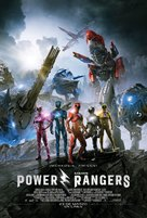 Power Rangers - Peruvian Movie Poster (xs thumbnail)