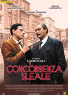 Concorrenza sleale - Italian Movie Poster (xs thumbnail)