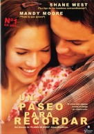 A Walk to Remember - Spanish poster (xs thumbnail)